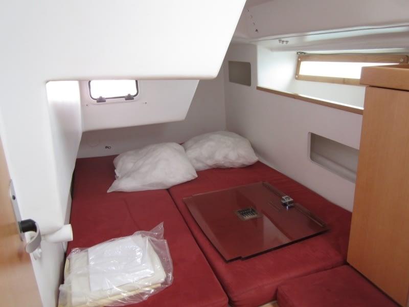 interieur location voilier cancale